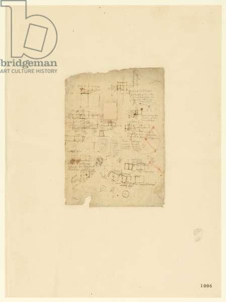 Codex Atlanticus, sheet 1006 recto