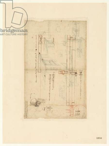 Codex Atlanticus, sheet 1056 recto