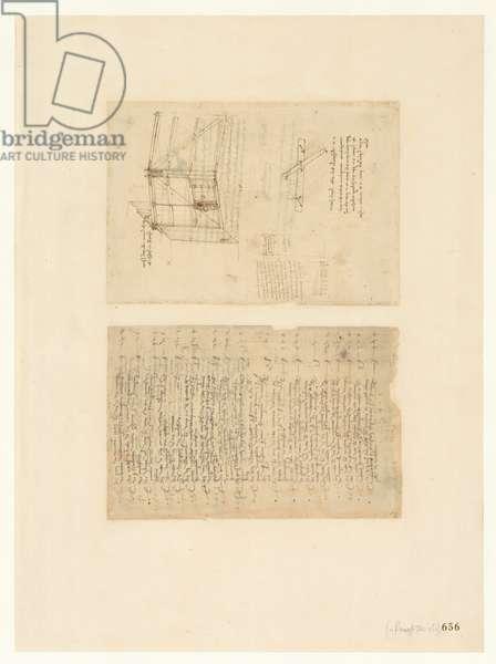 Codex Atlanticus, sheet 656 recto