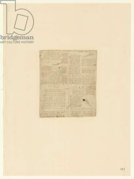 Codex Atlanticus, sheet 211 recto