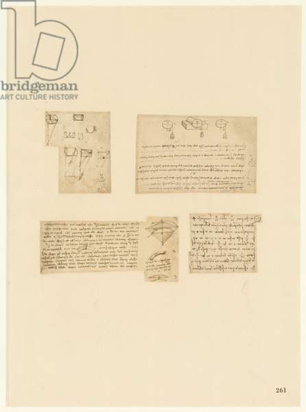 Codex Atlanticus, sheet 261 recto