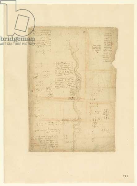 Codex Atlanticus, sheet 911 recto