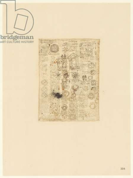 Codex Atlanticus, sheet 316 recto