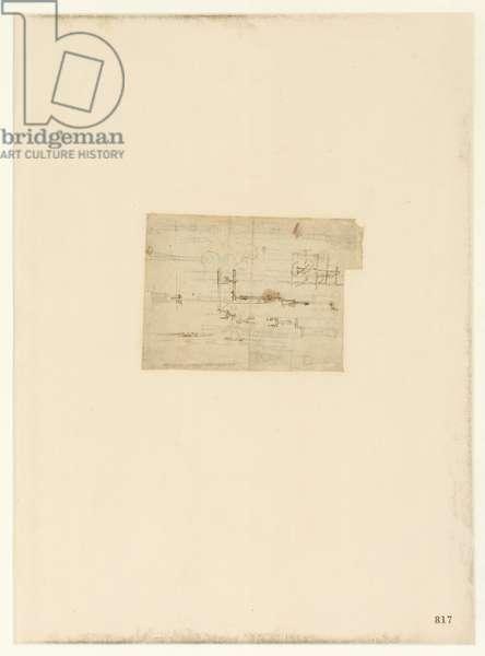 Codex Atlanticus, sheet 817 recto