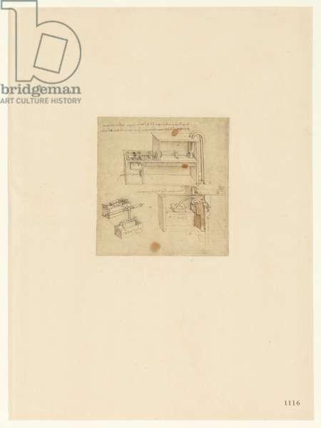 Codex Atlanticus, sheet 1116 recto