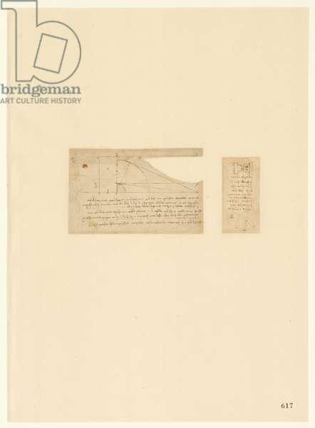 Codex Atlanticus, sheet 617 recto