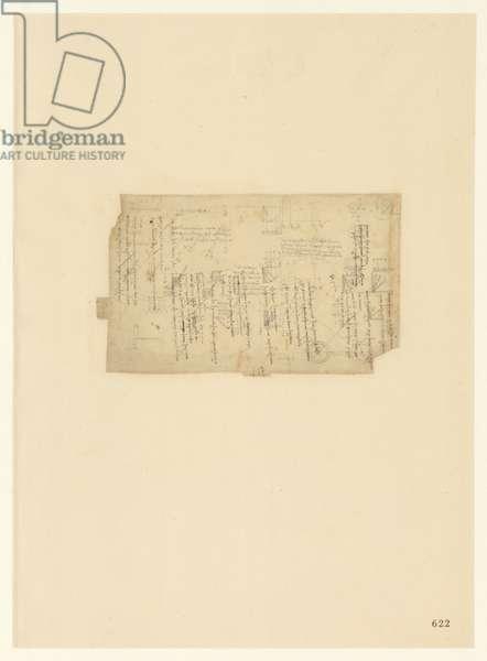 Codex Atlanticus, sheet 622 recto