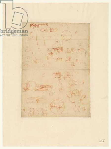 Codex Atlanticus, sheet 1077 recto