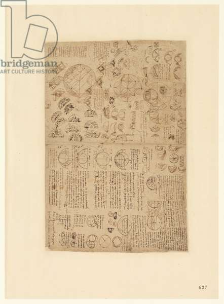 Codex Atlanticus, sheet 625 recto