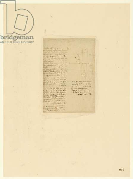 Codex Atlanticus, sheet 677 recto