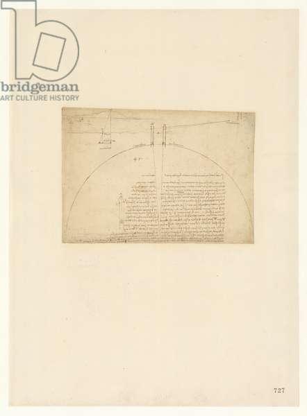 Codex Atlanticus, sheet 727 recto