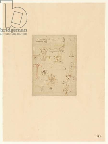 Codex Atlanticus, sheet 1086 recto