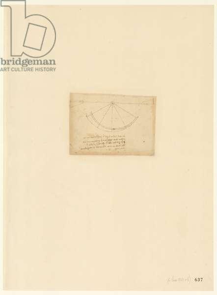 Codex Atlanticus, sheet 637 recto