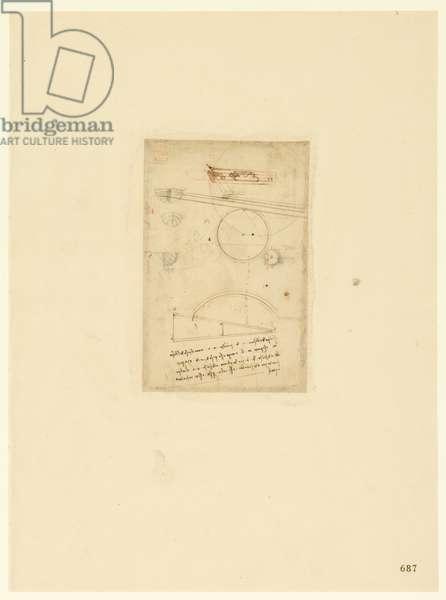 Codex Atlanticus, sheet 687 recto