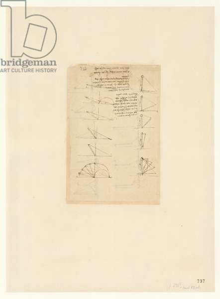 Codex Atlanticus, sheet 737 recto