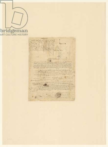 Codex Atlanticus, sheet 546 verso