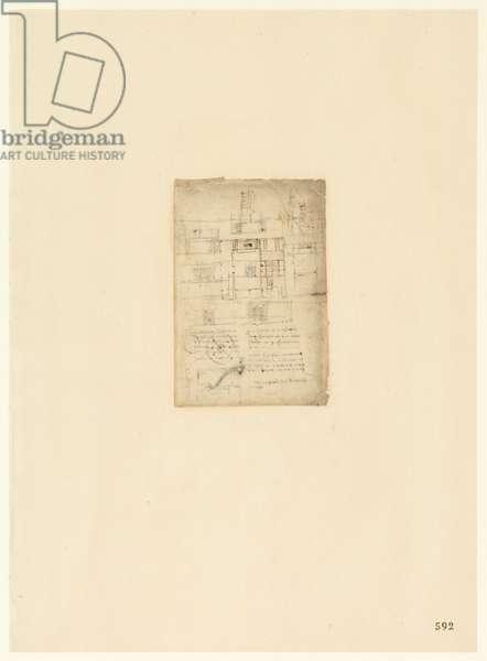 Codex Atlanticus, sheet 592 recto