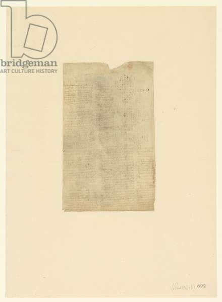 Codex Atlanticus, sheet 692 recto