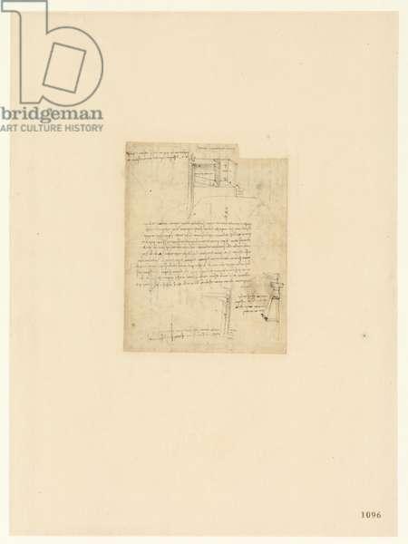 Codex Atlanticus, sheet 1096 recto