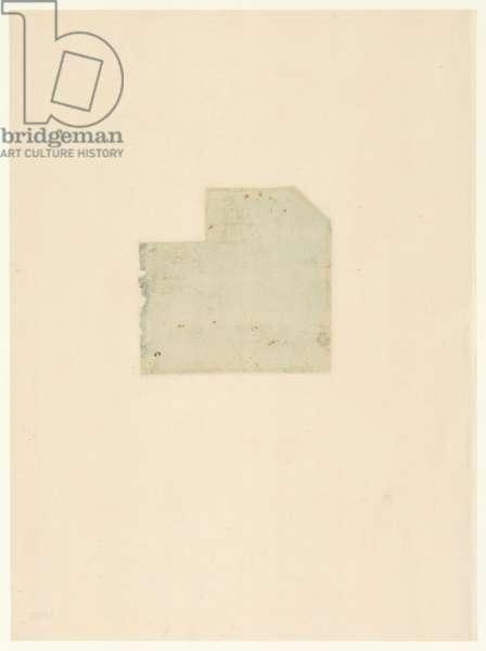 Codex Atlanticus, sheet 1001 verso