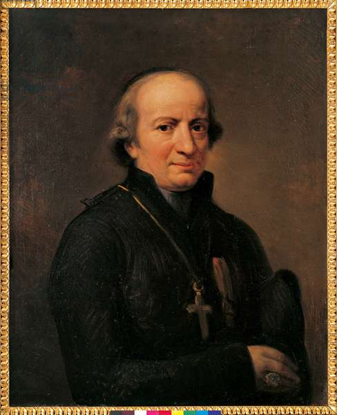 Portrait of Monsignor Stefano Bonsignori, 1816-17 (oil on canvas)