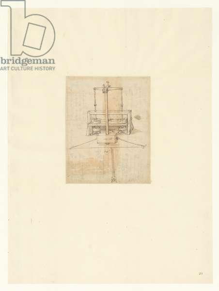 Codex Atlanticus, sheet 20 recto