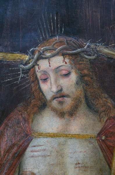 Detail from Christ Crowned with Thorns, 1522 (fresco)