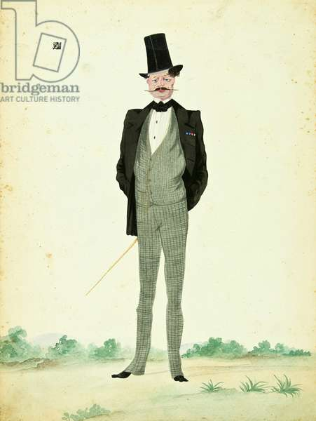 Man in Day Suit