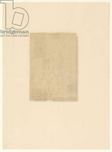 Codex Atlanticus, sheet 566 verso