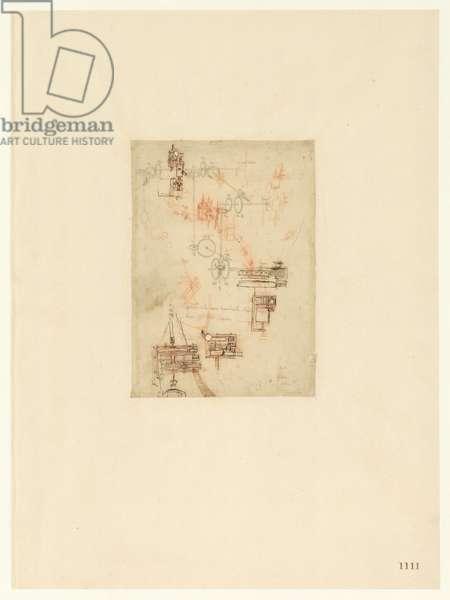 Codex Atlanticus, sheet 1111 recto