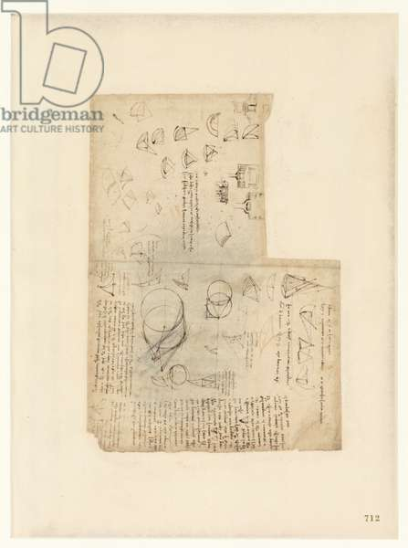 Codex Atlanticus, sheet 712 recto