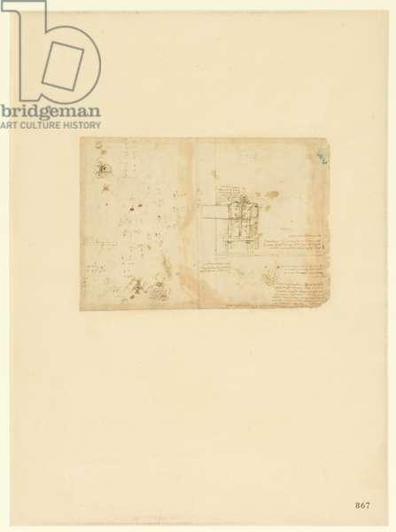 Codex Atlanticus, sheet 867 recto