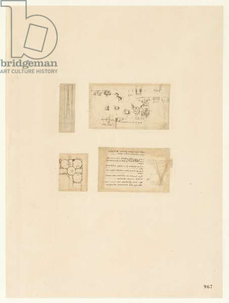 Codex Atlanticus, sheet 967 verso