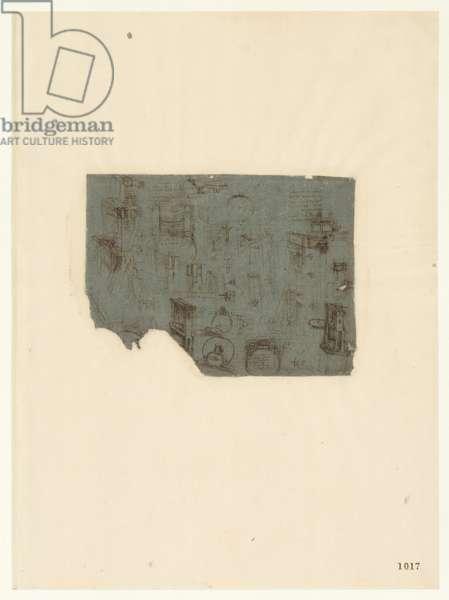Codex Atlanticus, sheet 1017 recto