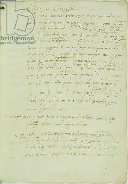 Page from the manuscript Annotationes in Homerum