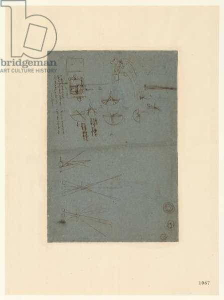 Codex Atlanticus, sheet 1067 recto