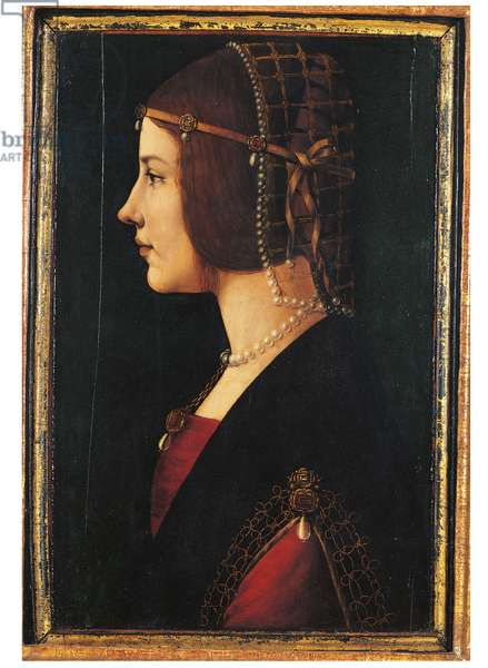 Portrait of a Lady, 1485-1500 (tempera & oil on panel)