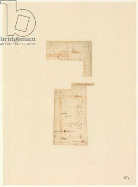 Codex Atlanticus, sheet 572 recto