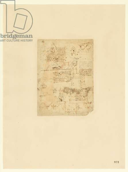 Codex Atlanticus, sheet 972 recto