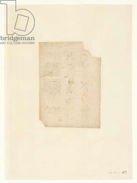 Codex Atlanticus, sheet 477 recto