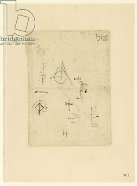 Codex Atlanticus, sheet 1022 recto