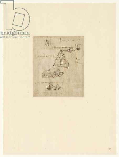 Codex Atlanticus, sheet 34 recto