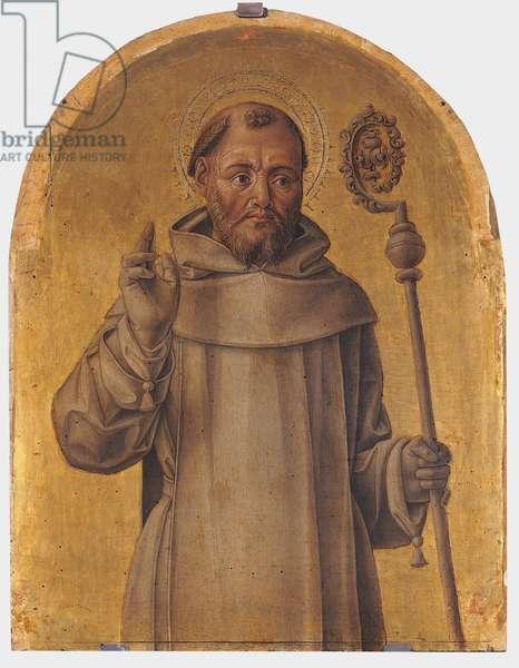 Saint Bernard of Clairvaux, 1486 (tempera on panel)