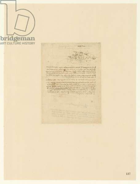 Codex Atlanticus, sheet 127 recto