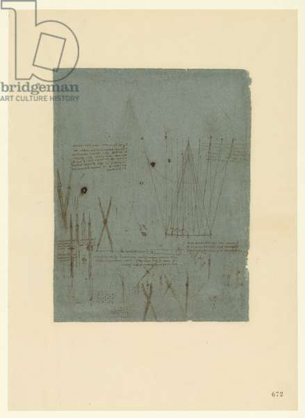 Codex Atlanticus, sheet 672 recto