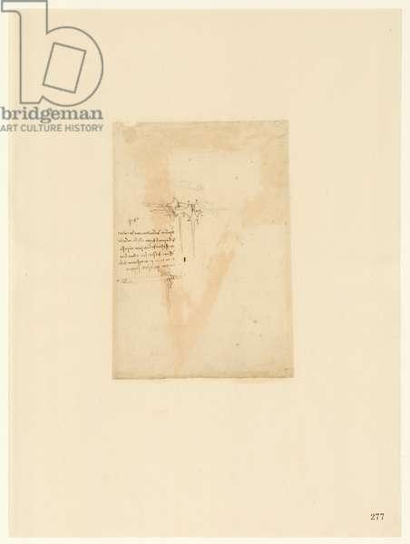 Codex Atlanticus, sheet 277 recto