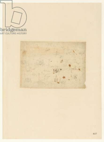 Codex Atlanticus, sheet 827 recto