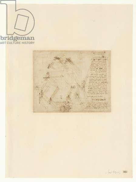 Codex Atlanticus, sheet 382 recto