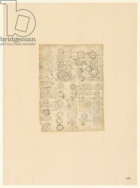 Codex Atlanticus, sheet 432 recto