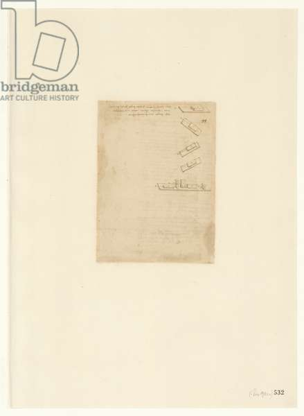 Codex Atlanticus, sheet 532 verso
